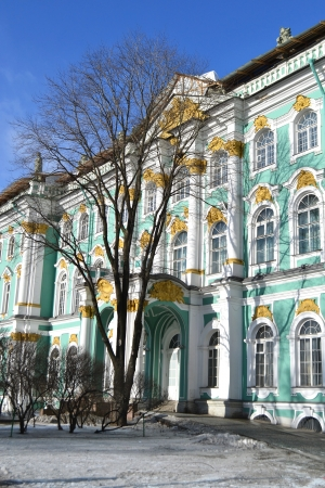 piter: The Hermitage at winter, St.Petersburg, Russia