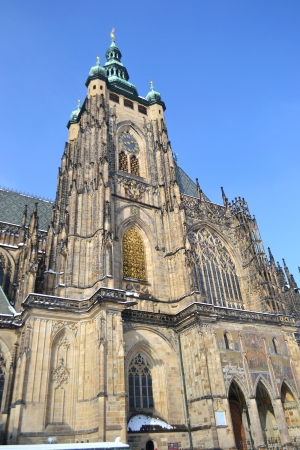 St Vitus cathedral in Prague  Czech republic  photo