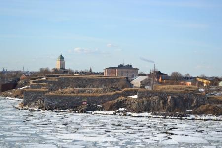 Suomenlinna fortress in Helsinki, Finland photo