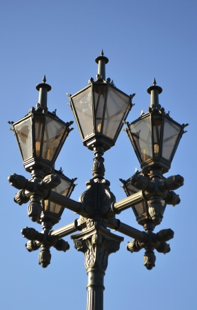 Street lantern in Tallinn, Estonia. photo