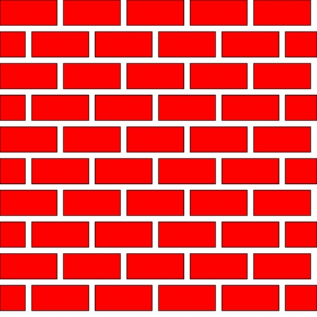 Seamless brick wall background Vector Illustration