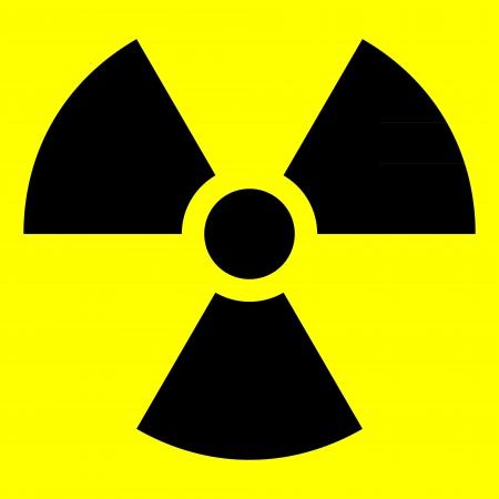 Radiation sign - vector illustration. Stock Vector - 24442083