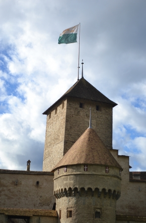 chillon: Chillon Castle near Montreux, Switzerland.