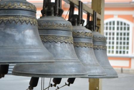 nevsky: Monastery bells in Alexander Nevsky Lavra, St.Petersburg, Russia.