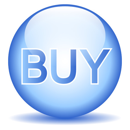 buy button: Buy button isolated on white background.