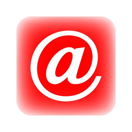 Email button on white background.