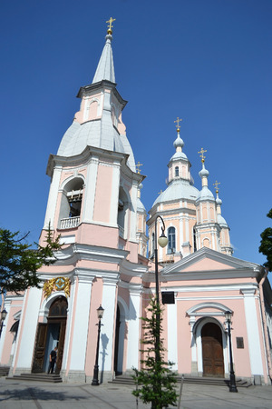 andrews: St. Andrews cathedral in St. Petersburg, Russia. Built 1764-1780 years.