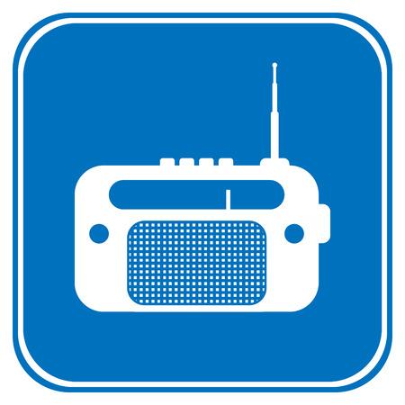 radio button: Pulsante di opzione su sfondo bianco. Vettoriali