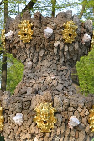 Fountain in renovated Summer garden, St.Petersburg, Russia. Stock Photo - 29119963