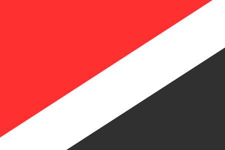 sealand: Flag of Sealand. Vector illustration. Illustration