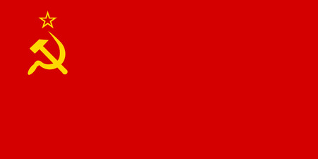 Flag of the Soviet Union. Vector illustration.