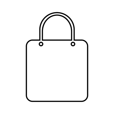 Shopping bag icon on white background. Stock Vector - 29544056