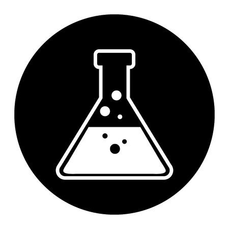 laboratory equipment: Laboratory equipment icon on white background.
