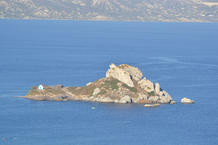 Island Kastri, near Greek island of Kos, Kefalos, Greece. photo