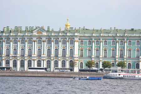 ST.PETERSBURG, RUSSIA - JULY 29, 2014:  Winter Palace in St.Petersburg, Russia.