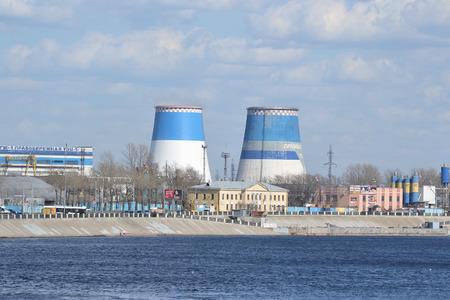 ST.PETERSBURG, RUSSIA - MAY 2, 2013: October Embankment on the outskirts of St. Petersburg, Russia.