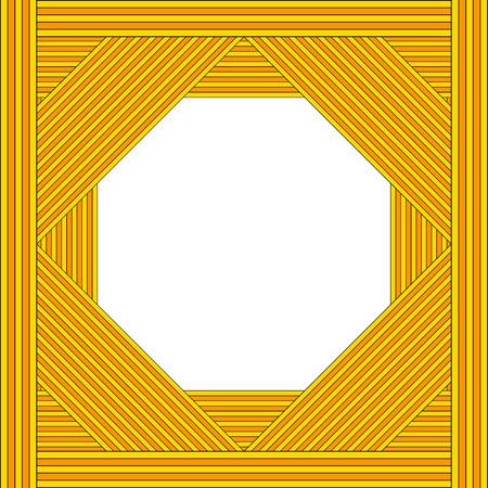 abstract background vector: Black orange gradient abstract background - vector illustration. Illustration