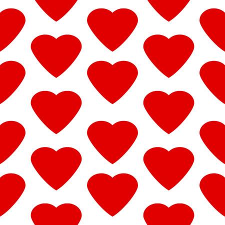 secret love: Love heart seamless pattern on white background.