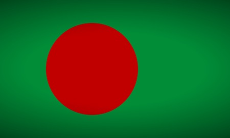 bangladesh: Flag of Bangladesh. Vector illustration.