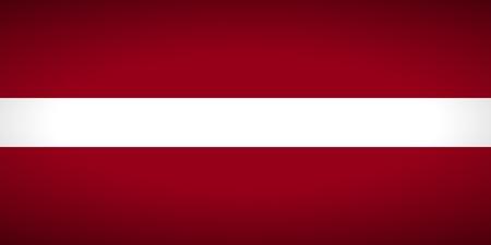 carmine: Bandera de Letonia. Ilustraci�n del vector. Vectores