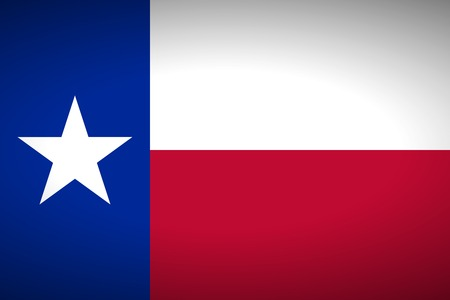 texas state flag: Flag of Texas. Vector illustration. Illustration