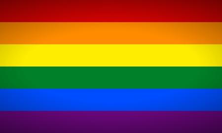 Homosexuell Vektor Flagge oder LGBT Vektor Flagge. Standard-Bild - 36849431