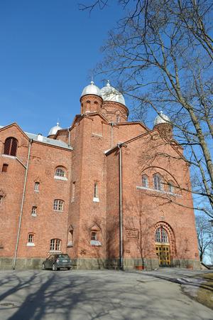finnish: Church Lappeenranta - Lutheran church in the Finnish city of Lappeenranta.