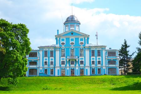 vorontsov: Vorontsov palace or Novoznamenka at the Peterhof road near St. Petersburg, Russia.