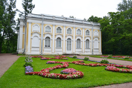 outskirts: Palace in Oranienbaum, outskirts of St. Petersburg, Russia. Editorial