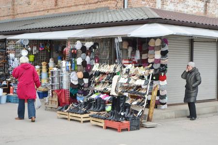 riga: RIGA, LATVIA - APRIL 18, 2015: Riga Central Market is Europe largest market and bazaar in Riga.
