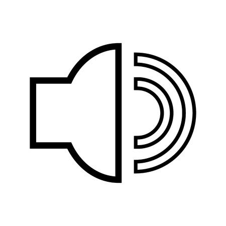 Shiny Black Sound Box Set Vector Illustration Royalty Free Cliparts