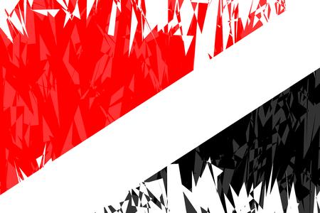 sealand: Flag of Sealand in grunge style. Vector illustration. Illustration