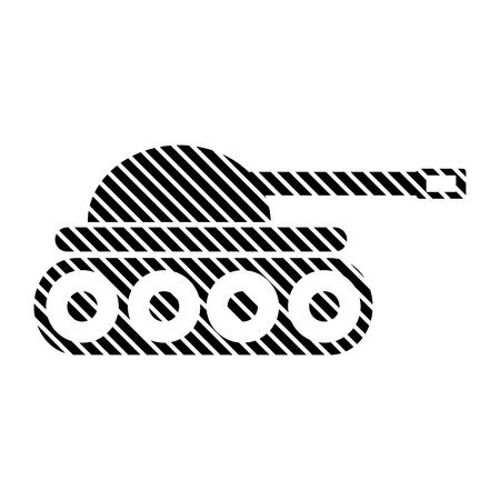 Panzer sign on white background. Vector illustration. Illustration