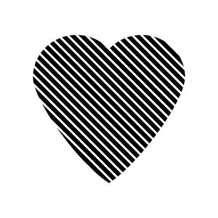 design media love: Love sign sign isolated on white background. Vector illustration.