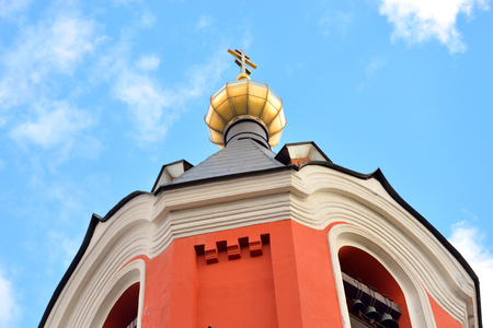 ascension: Church of the Ascension in Kolpino town on the outskirts of St. Petersburg, Russia.