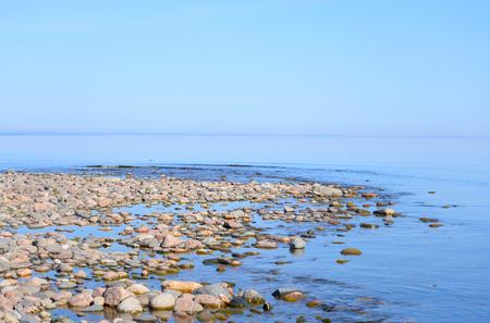 ladoga: Ladoga lake at sunny morning, the Karelian Isthmus.