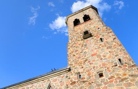 lutheran: Lutheran Church in Priozersk, designed by Armas Lindgren in 1930.