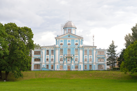 bartolomeo rastrelli: Vorontsov palace or Novoznamenka in the Peterhof Road area, St.Petersburg, Russia. Estate of Chancellor Mikhail Vorontsov
