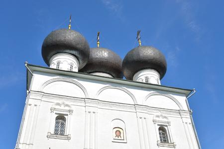 st nicholas: Church of St. Nicholas in Vladychnaya Sloboda in Vologda, Russia.