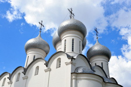 leningrad: Sophia Cathedral - Orthodox church, now a museum in Vologda, Russia. Erected in 1568 - 1570 years on the orders of Ivan the Terrible