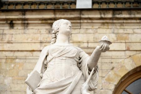 vigilance: Statue Vigilance near Big Gatchina Palace in Gatchina, Russia.