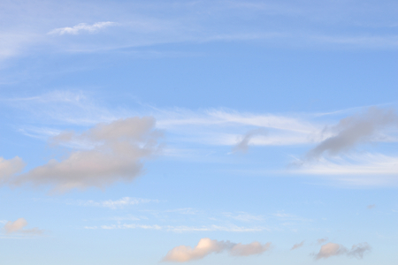 gloaming: Blue sky and  clouds, may be used as background.