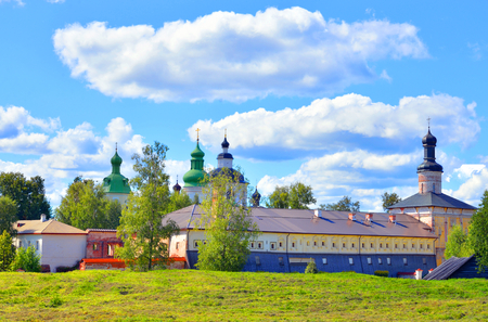 Kirillo-Belozersky monastery by day near City Kirillov, Vologda region, Russia.