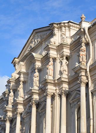 The Novo-Mikhailovsky Palace on Dvortsovaya Embankment in St.Petersburg, Russia. Editorial