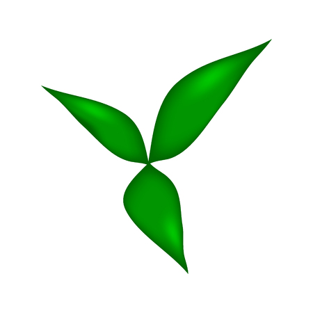 Sprout icon on white background. Vector illustration.