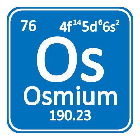 79 osmium stock vector illustration and royalty free osmium clipart periodic table element osmium icon on white background vector illustration urtaz Images