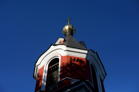 Church of the Ascension in Kolpino town on the outskirts of St. Petersburg, Russia.