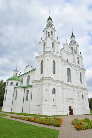 St. Sophia Cathedral in Polotsk, architectural monument of XI-XVIII centuries, the first stone building in Belarus.