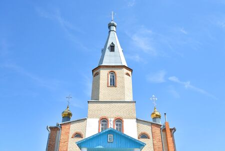 Church of St. Seraphim of Sarov in the village of Mankovichi, Belarus.