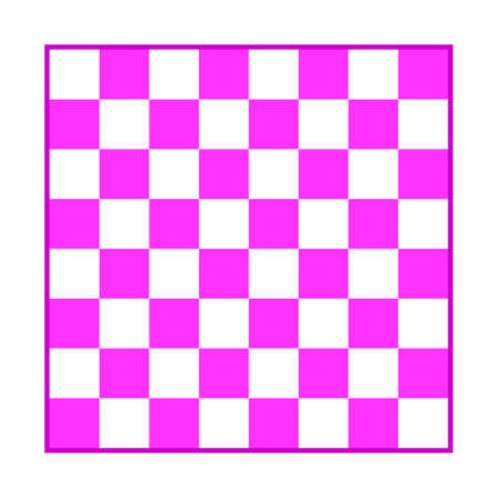 Chess board icon on white background. Vector illustration.